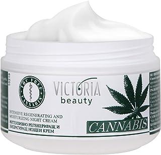 Cannabis Extract Night Face Cream - Natural Intensive Cream