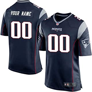 Personalized Custom New England Patriots Football Jersey Practice Jersey Player Jersey T-Shirt Sports Fan Clothing for Women&Men&Youth Kids
