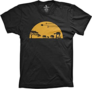 at-at Movie Shirts Funny Tshirts Graphic Space tee