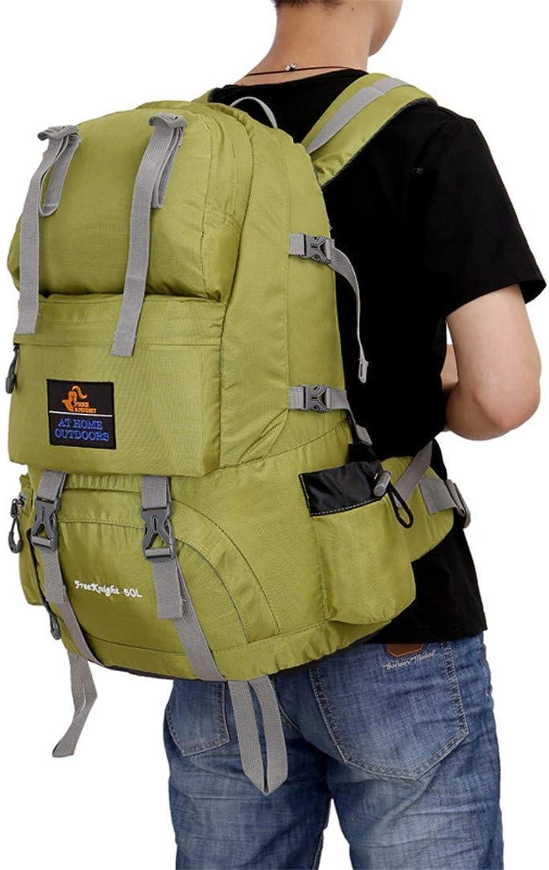 50L Outdoor Sport Klettertasche Wasserdichtes Nylon Material Unisex Travel Camping Sport Bergsteigen Taschen