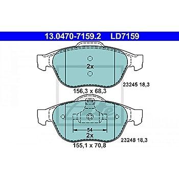 ATE 13.0470-7137.2 Kit de plaquettes de frein frein /à disque
