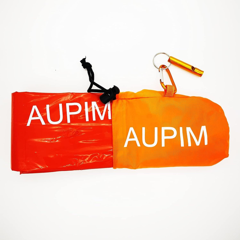 AUPIM Emergency Blankets Sleeping Bags Translated Used Y to Keep High order