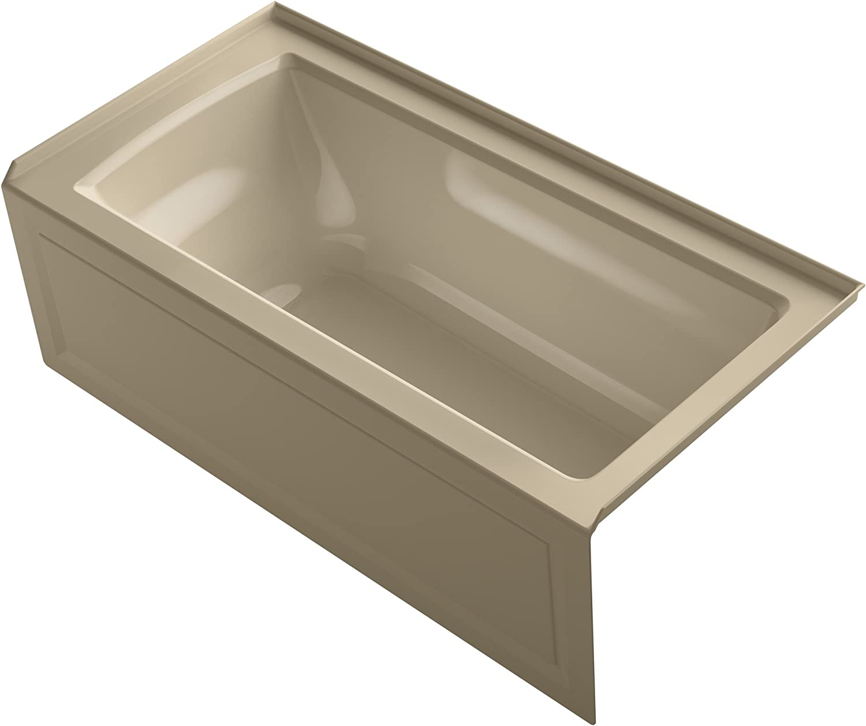 KOHLER K-1946-RA-33 Alcove Bath with Ranking TOP18 Tile Flange Apron Integral Seasonal Wrap Introduction