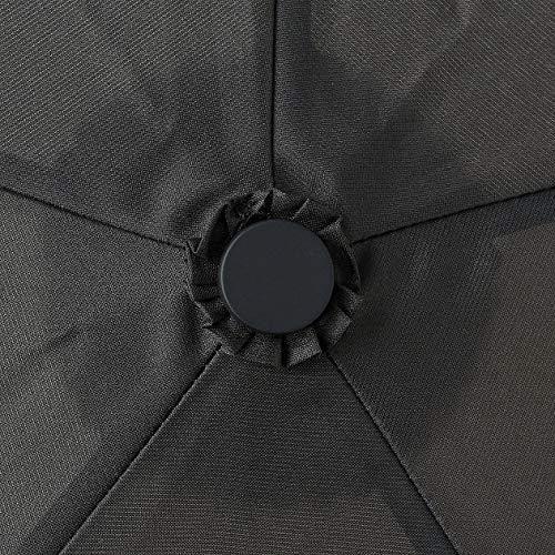 無印良品軽量晴雨兼用折りたたみ傘傘50cm黒44317952