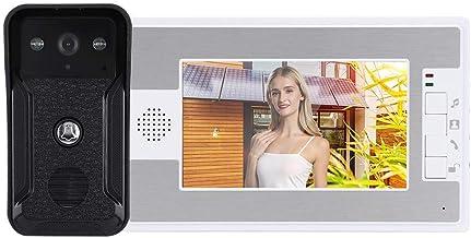 2-Way Waterproof Doorbell, Speakerphone Intercom Door Phone, Rainproof Night Looking for Home Security Villas(Australian r...
