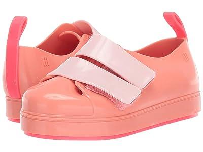 Mini Melissa Go Sneaker BB (Toddler/Little Kid) (Neon Pink) Girl
