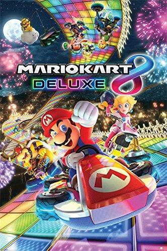 1art1 Super Mario - Mario Kart, 8 Deluxe Poster 91 x 61 cm