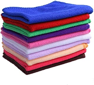 Sweeping Cloths Candy Color Soothing Cotton Face/Hand Towel/Cleaning Wash Cloth Home Clean Car Cleaning Wash Tools