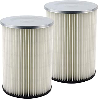 2 Pack Felji Replacement Cartridge Filters for Shop Vac 90328 9032800 903-28 903-28-00 fits Craftsman and Ridgid Brand Vacuums