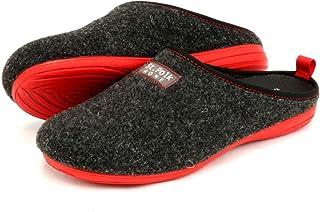 St.Polk® Zapatillas casa Mujer/Hombre Slippers Pantuflas de Estar por casa Fabricadas España Original Unisex Invierno/Vera...