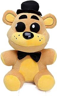 """HE 10"""" Cute FNAF Plushies Golden Freddy Plush Toys - Five Nights at Freddy's Plush Purple Freddy Frostbear Stuffed, Shadow..."""