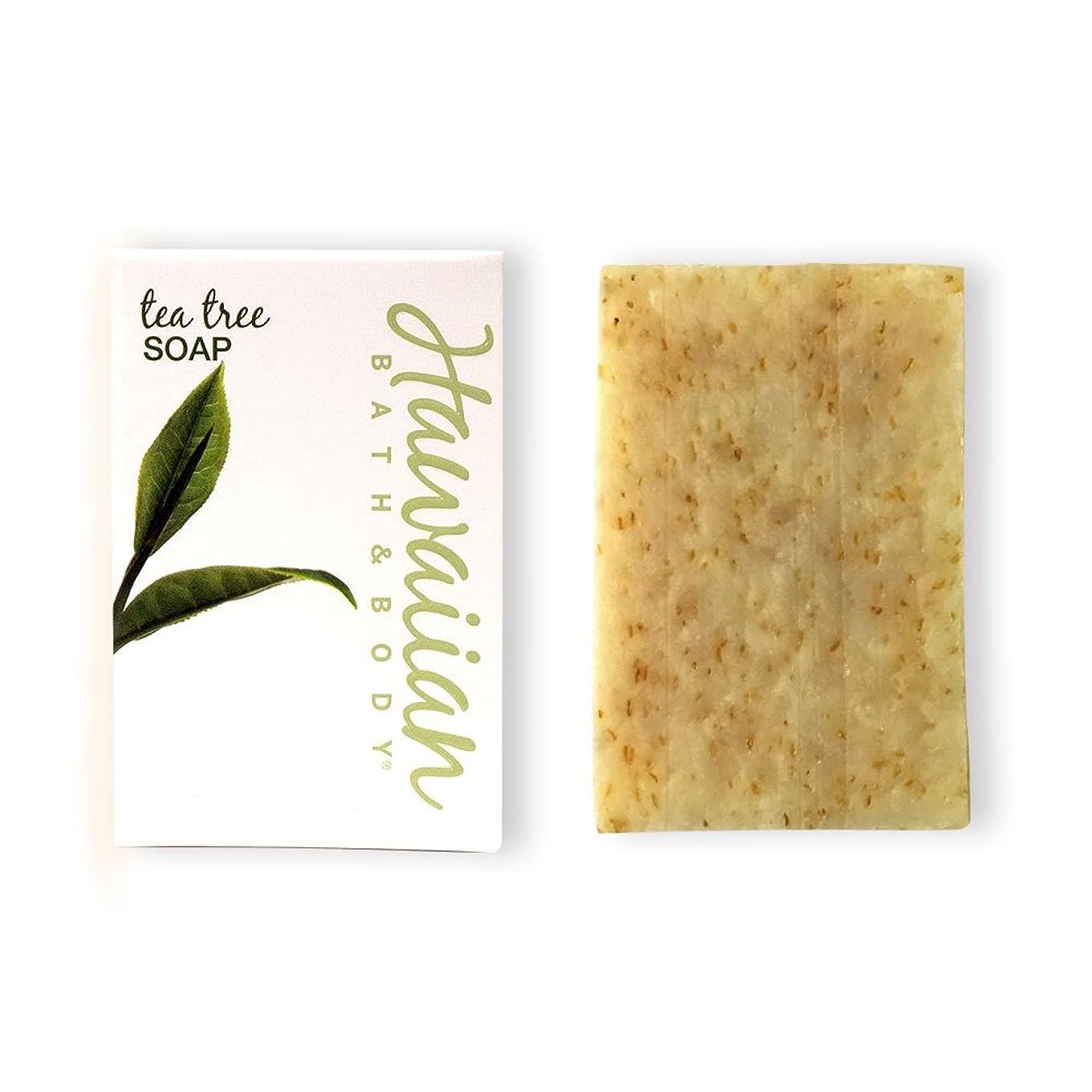 確かめる心理的どうしたのハワイアンバス&ボディ ティーツリーソープ(トロピカルブレンド)( Tea Tree Soap )