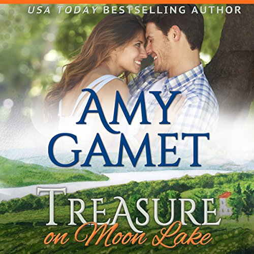 Treasure on Moon Lake audiobook cover art
