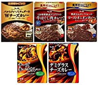 S&B 濃厚好きのごちそう 濃厚ソースにからみ合う カレー 5種類各1個入り5個セット