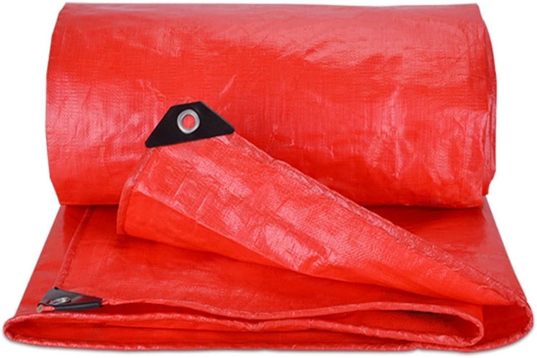 Plane Persenning Rote wasserdichte wasserdichte wasserdichte dauerhafte Qualitäts-Hochleistungsplanen-Zelt-Unterlage für kampierendes und UVschutz im Freien - Stärke 0.5mm, 550g   m², Multi-Größe Abdeckplanen (größe   3MX4M) B07PDXKVMY  Sport entzünd f36f0a