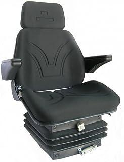 Traktorsitz 'Top' komplett mit Armlehnen, Kopfstütze und Rückenlehne
