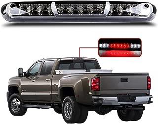 LED 3rd High Mount Brake Light Brake Light Carge Light for 2007-2013 Chevy Silverado GMC Sierra Smoke Lens LED Light