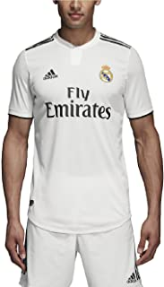 adidas 2018-2019 Real Madrid Home Authentic Jersey- White L