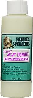 Nature's Specialties Super EZ Dematt Pet Conditioner, 4-Ounce