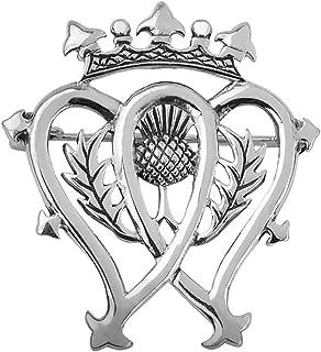 Sterling Silver Scottish Luckenbooth Silver Brooch
