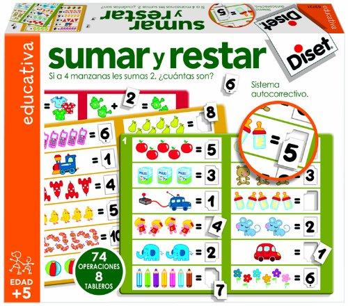 Diset Para aprender a sumar y restar a partir de 5 años