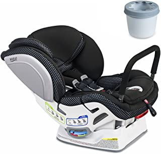 Britax Advocate ClickTight ARB Cool Flow Convertible Car Seat, Grey with Cupholder Set