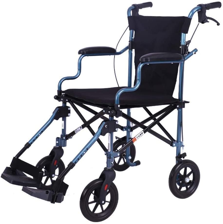 GUOCAO Medical Rehab Chair Limited time cheap sale Ranking TOP6 Wheel Wheelchair Lightweight Folding