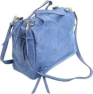 Womens Handbags PU Leather Top-Handle Crossbody Shoulder Bags Satchels Totes For Women
