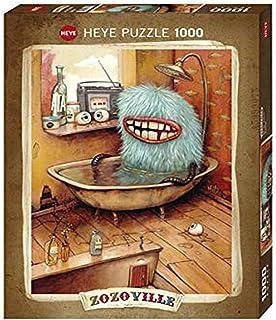 Zozoville Bathtub. Puzzle 1000 Teile: Standardpuzzle