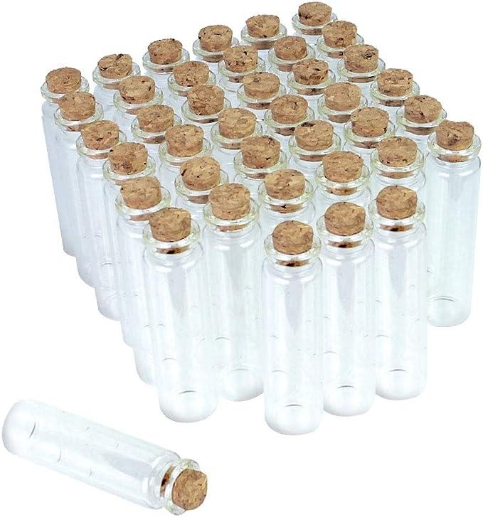 178 opinioni per LYTIVAGEN 40 Pezzi Mini Bottiglie in vetro Piccole Bottiglie Artigianato Mini