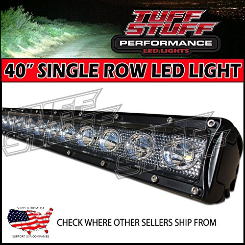 Where to buy tuff stuff performance 40ampquot single row off road tuff stuff performance 40quot single row off road led light bar spotflood combo beam 5w led 10 800 lumen mozeypictures Gallery