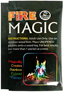Xingny Xingny Mystical Fire Magic Tricks Bonfire Camp Fire Colorful Flame Powder Games Toy