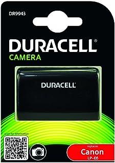 Duracell DR9943 - Batería para Cámara Digital 7.4 V 1400 mAh (Reemplaza Batería Original de Canon LP-E6) Negro