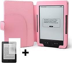 ForeFront Cases® - Funda de Piel sintética para Amazon Kindle 4, Pantalla de 6