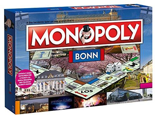 Monopoly Bonn Edition - Das berühmte Spiel um den großen Deal! Die Neuauflage der Stadt Edition