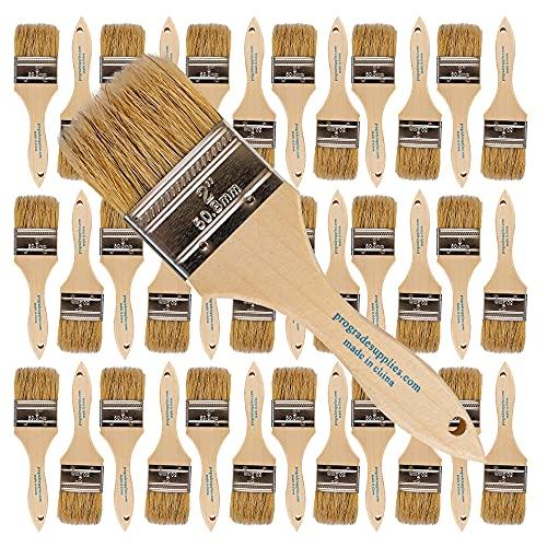 Pro Grade - Chip Paint Brushes - 36 Ea 2 Inch Chip Paint...