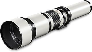 Walimex 15866 - Objetivo para Sony/Minolta (Distancia Focal 650-1300mm Apertura f/16 diámetro: 95mm) Color Blanco