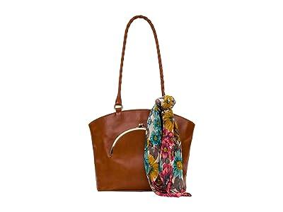 Patricia Nash Zorita (Tan/FB Scarf) Handbags