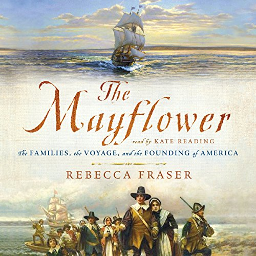 The Mayflower audiobook cover art
