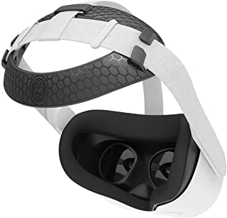AMVR Head Back Padding, Gravity Pressure Balance Cushion Comfortable Soft TPU Pad Accessories for Oculus Quest 2 Headset (...