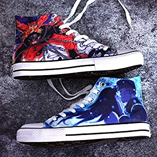 d3cb9cdc879843 Anime Shoes Custom Naruto Shoes Hand Painted Sneakers Custom Shoes Custom  Sneakers Hi Tops Customised Shoes