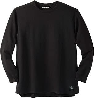 Kingsize Sport Collection Men's Big & Tall Tall Wicking Fleece Crewneck Sweatshirt