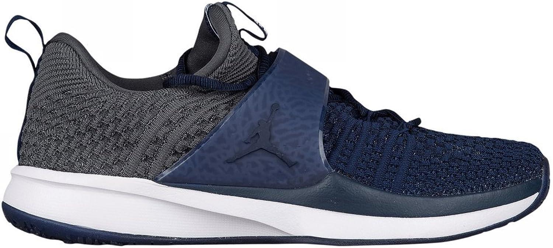 Jordan Brand Derek Jeter Re2pect Trainer 2 Flyknit College Navy shoes - Size Men's 12.5 M US