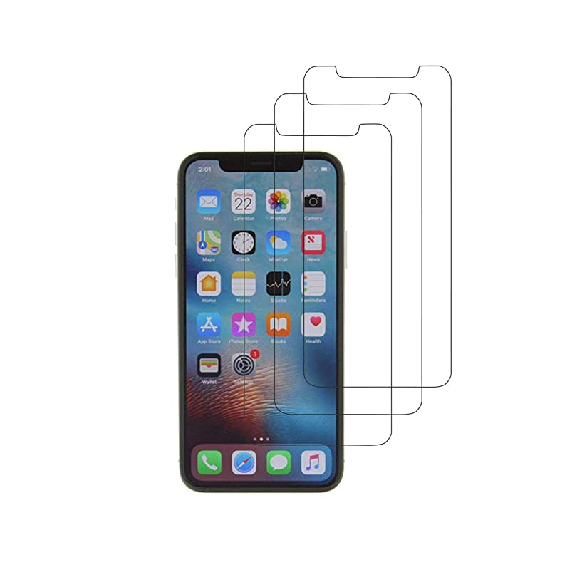 男らしいスムーズに自明iPhone X ガラスフィルム 3D全面保護 飛散防止 自動吸着 硬度9H