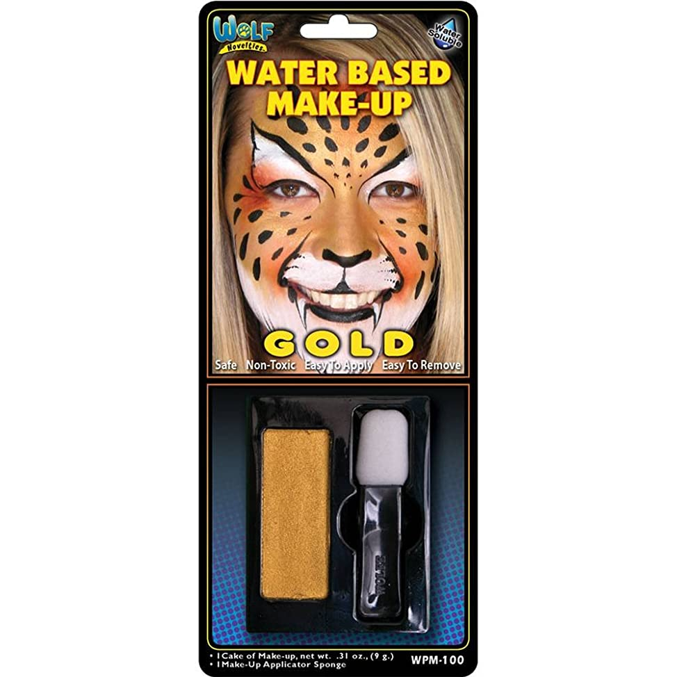 Gold Water Based Make-Up