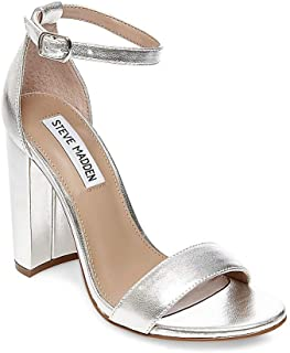 Women's Carrson Dress Sandal, Silver, 11 M US