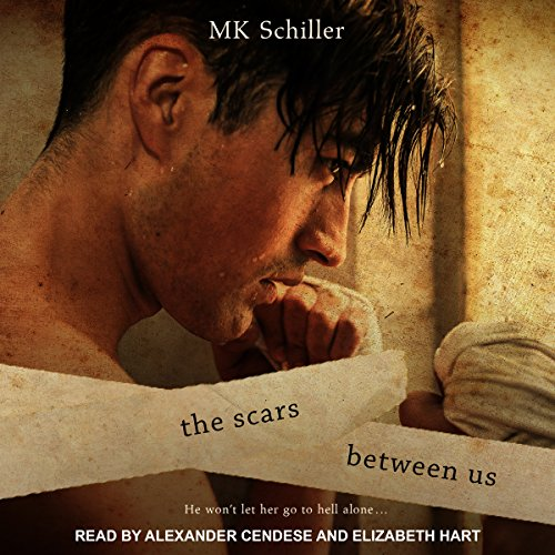 The Scars Between Us audiobook cover art
