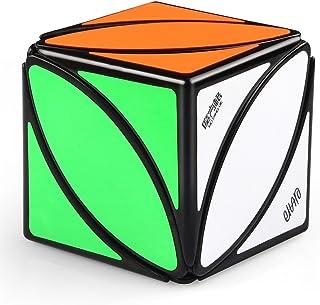 Coogam Qiyi MoFanggGe Ivy Cube Eitan Lvy Leaf Cube Skewb Shape Puzzle Black