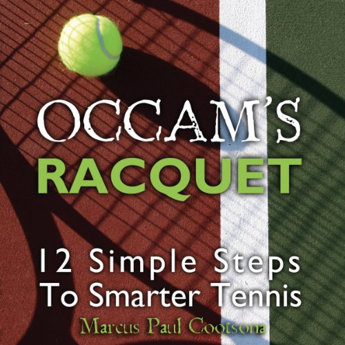 Occam's Racquet audiobook cover art