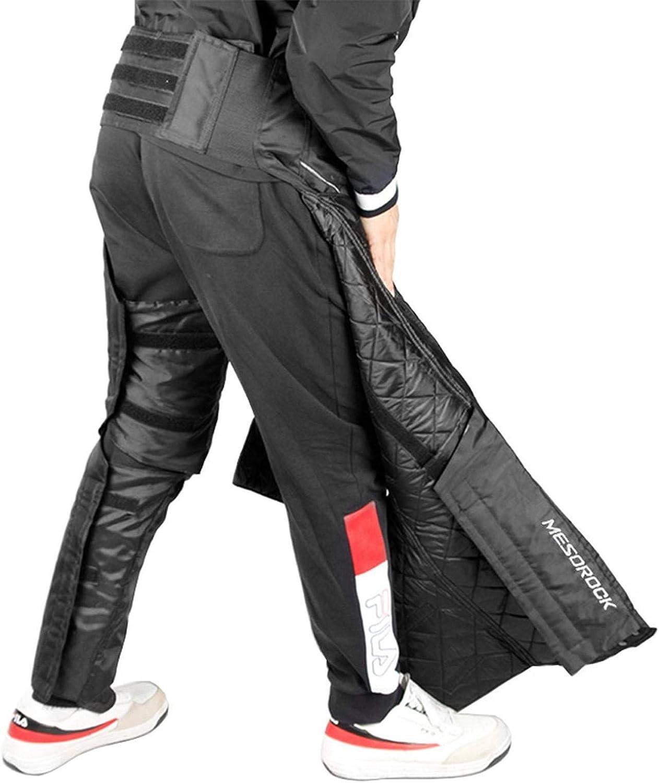 Rodilleras De Motocicleta Con Elasticidad Ajustable Espinilleras De Invierno A Prueba De Viento A Prueba De Agua Protector De Calentador De Piernas Para Motocicleta Cubiertas De Polainas C/álidas